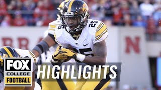 Iowa vs Nebraska | Highlights | FOX COLLEGE FOOTBALL