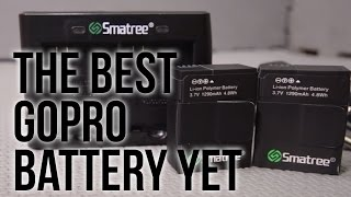 Smatree New Lithium-ion Polymer Battery and New Dual Charger Review