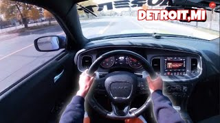 POV DRIVE IN THE HOOD *THIS HAPPENS IN DETROIT* 😱