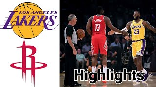 Lakers vs Rockets HIGHLIGHTS Full Game | NBA January 12