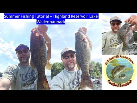 How To Fish Lake Wallenpaupack In Summer