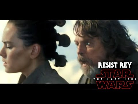 Star Wars The Last Jedi Resist It Rey Breakdown! TV Spot #10 (NEW Footage)