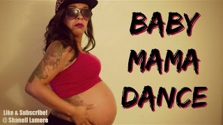 starrkeisha baby mama dance   34 weeks pregnant   must watch funny