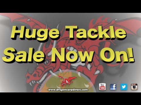 Massive fishing tackle sale now on! Carp, match and more! Best prices in the UK!