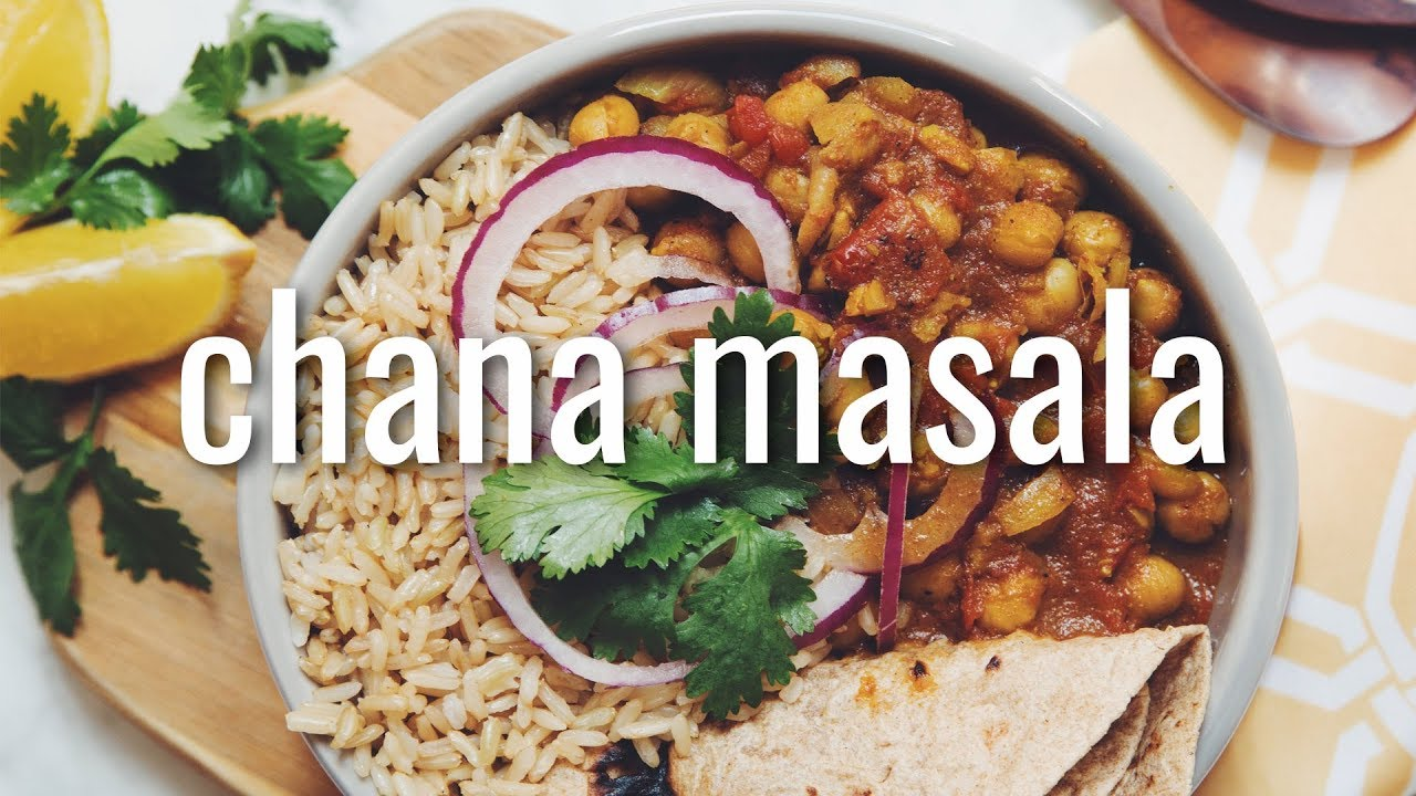 CHANA MASALA | hot for food