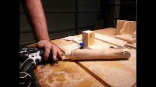 Easy! Round Tenons With Table Saw And Router