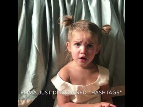 Toddler's, hashtags and Bieber