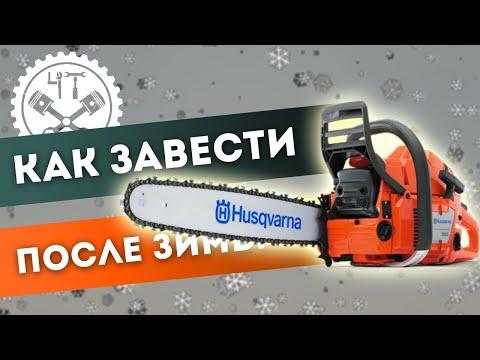 🔧 Как завести бензопилу после зимы