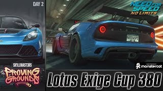 Need For Speed No Limits: Lotus Exige Cup 380 | Proving Grounds (Day 2 - Try-Outs)