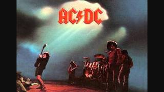 "Song ""Overdose"" from the ""Let There Be Rock"" album. AC/DC : * BON S..."