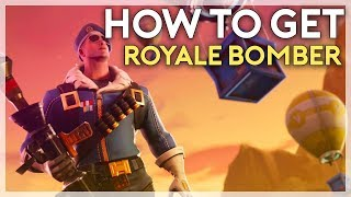 Como obter o Royale Bomber Skin (apenas nos/PS4 e PC) (Fortnite Battle Royale)