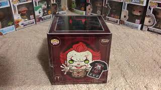 Funko Pennywise Hot Topic Pop and Tee box UNBOXING!!