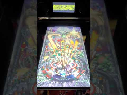Arcade1up Pinball Fear Itslef Gameplay from Kevin F