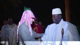 الأمير الوليد يقيم مأدبة عشاء على شرف رئيس جمهورية جامبيا