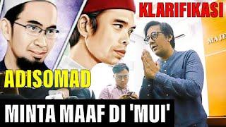 FULL Detik Detik Andre Minta Maaf Atas ADISOMAD Di Majelis Ulama Indonesia MUI USTADZ Abdul Somad