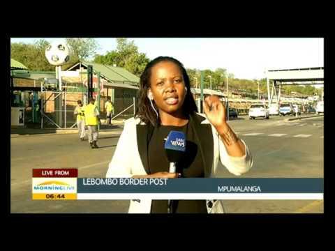 Traffic update from Lebombo border post