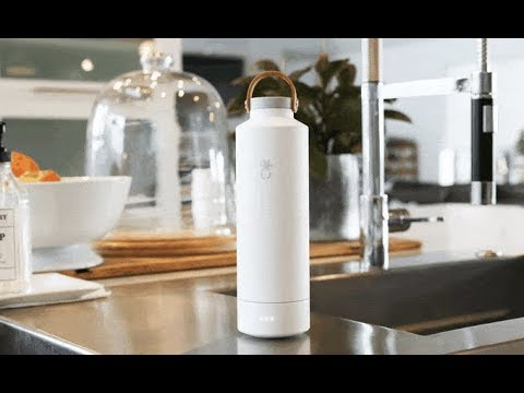 Self-Cleaning Reusable Water Bottle