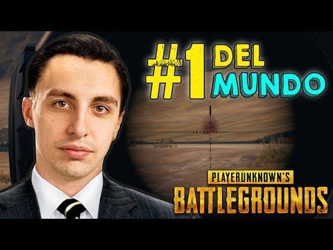EL MEJOR JUGADOR DEL MUNDO DEL PLAYERUNKNOWN'S BATTLEGROUNDS