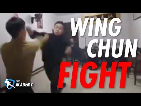 Wing Chun Fight Breakdown [Wing Chun Real Fight]