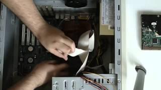 Montage PC Étape 2 - Carte mère, Alim et Disque dur dans boîtier !