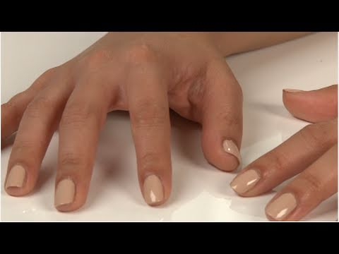 Three Perfect Nude Nail Colors For Your Skin Tone - YouTube