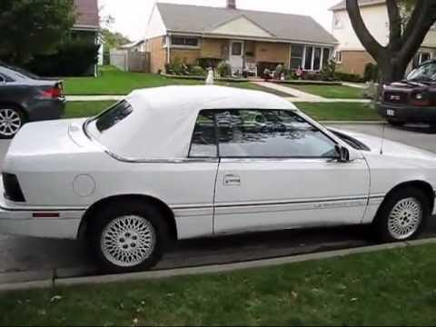 My Lebaron Convertible Top Install Bought New On Ebay Installed Myself