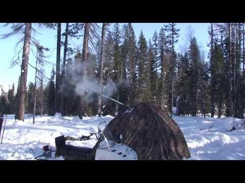 Путешествие в зимние горы Байкала. Фильм 2. Часть 3
