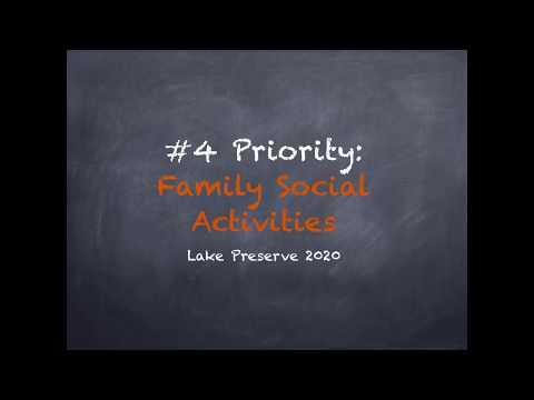 2020 Plan Video 5 Family Social Activities