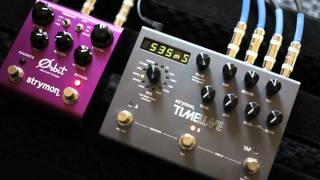 Strymon TimeLine delay and Orbit Flanger - Feedback Loop demo