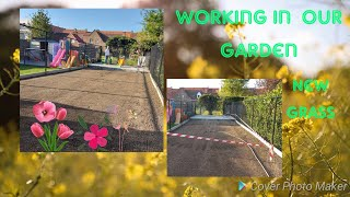 Nagpa Trabaho sa Aming Garden| Pinay In Belgium|