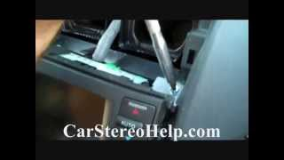 How to Acura TL Bose Car Stereo Removal 2004 - 2008 repalce repair navigation