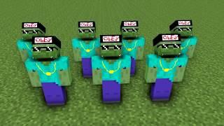 Monster School : ALL MOBS GOT NEW KIDS CHILDREN CHALLENGE - Minecraft Animation