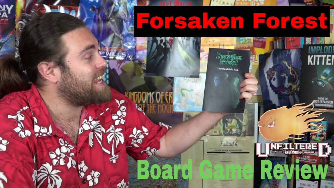 Forsaken Forest - Kickstarter Board Game Review image