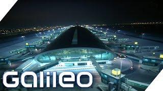 Der größte Flughafen der Welt in Dubai | Galileo | ProSieben