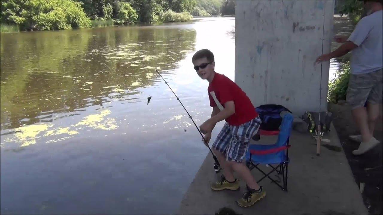 Fishing with nick episode 1 olcott ny youtube for Free fishing license ny