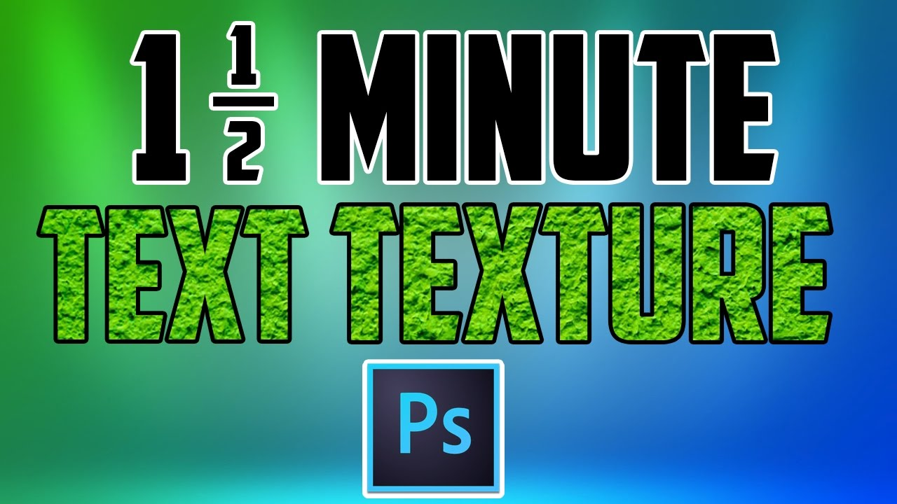 Photoshop cc how to add a texture to text youtube photoshop cc how to add a texture to text ccuart Choice Image