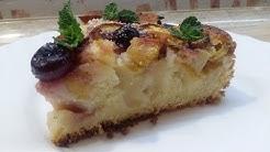 НЕРЕАЛЬНО ВКУСНЫЙ и ПРОСТОЙ ПИРОГ с ФРУКТАМИ(ягодами) рецепт К ЧАЮ на скорую руку | Fruit Pie Recipe