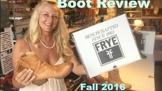 Frye Boot Review 2016