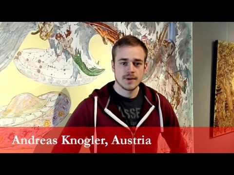 Andreas Knogler, student from Austria at the University of Ljubljana