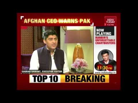 India With Afghanistan Issues Joint Ultimatum To Pakistan Against Terror