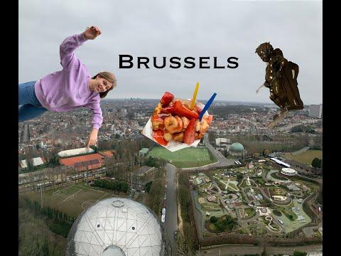 Пилотирую самолёт ,падаю с самоката.Галопом по Брюсселю!