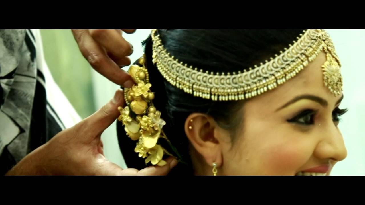 salon hair master bridal dressing video
