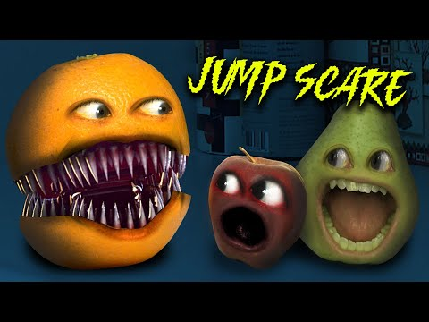 Annoying Orange - Jump Scare! #SHOCKTOBER
