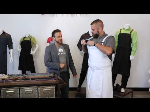 Introducing the Berkeley Apron from Chef Works