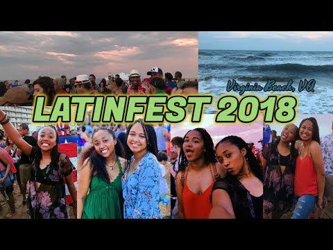 LATINFEST 2018   Virginia Beach Music Festival   PK DAWSON