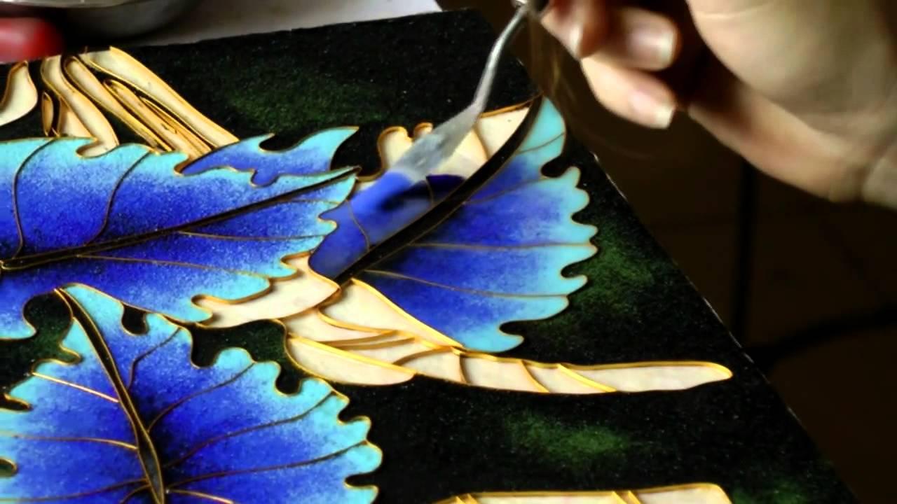 Enamel Art Dafen Shenzhen China Works Series 2012