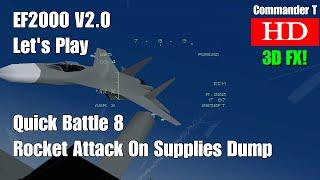 Let's Play Eurofighter EF2000 V2 Quick Battle Supply Dump Destruction 1080HD [Episode 1]