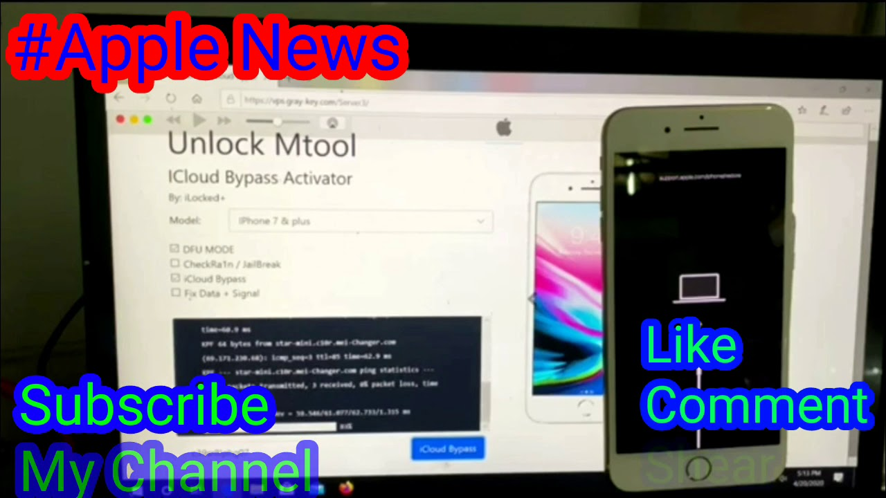 Remove Apple ID iPhone 7&Plus with Mtool - YouTube