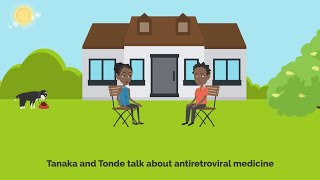 Masas' 3: Tanaka and Tonde talk about antiretroviral medicine