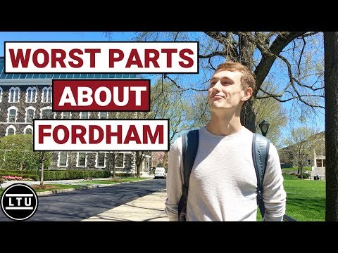 The WORST Parts About Fordham University - Campus Interviews (2019) LTU